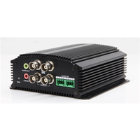 Hikvision Encoder 4-ch video & 4-ch audio input 25fps@4CIF per channel 1 PoE Ethernet Interface